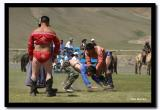One of the Most Manly Sports at  Naadam, Kharkhorin