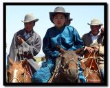 Woman on Horseback at Naadam