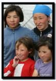 Mother with ther daughters, Altai Tavanbogd National Park