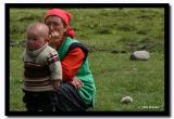 Mother and Son, Altai Tavanbogd National Park