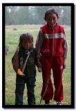 Two Kazakh Girls, Altai Tavanbogd National Park