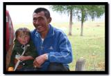 Father and Daughter, Altai Tavanbogd National Park