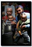 Kazakh Family in Ger, Bayan-Olgii
