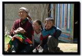 Grandmother with her Grandchildren, Bayan-Olgii Aimag