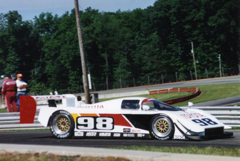 2nd P J Jones   Eagle MkIII/Toyota