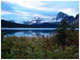 Bow Lake at Sunrise