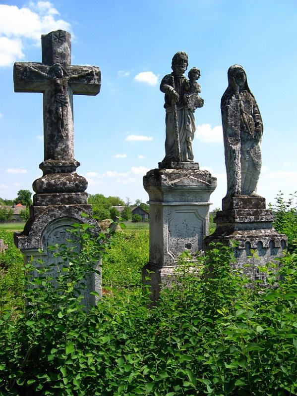 Graveyard in Nowe Brusno