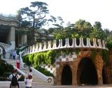Park Guell Caves