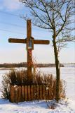The cross in winter