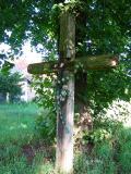 Wooden Cross In Lezachow
