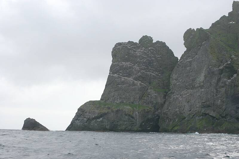 The northern end of Boreray