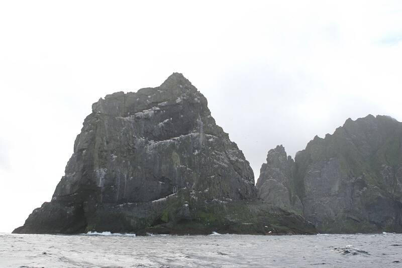 Stac an Armin from the north-west