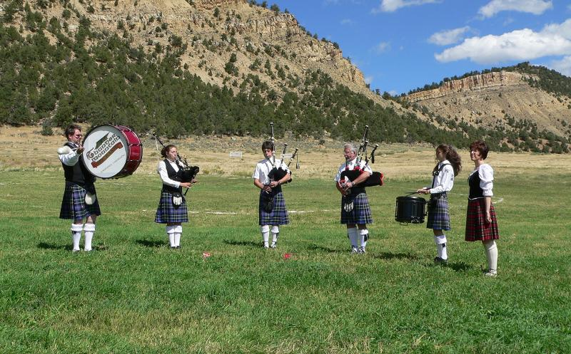 Thunder Mountain Pipe Band
