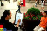 Dalian 大連 - caricature artist