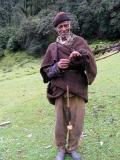 Spinning Wool near Kinol