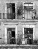 Gente en el malecón (La Habana)...(+)
