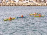 Canoeing at Formentera
