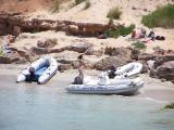 Little Boats at Cala Saona