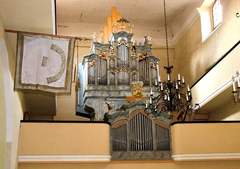 Organ in Peters Church
