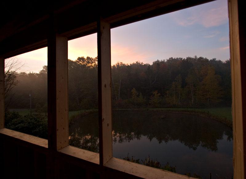 Sunrise upstairs