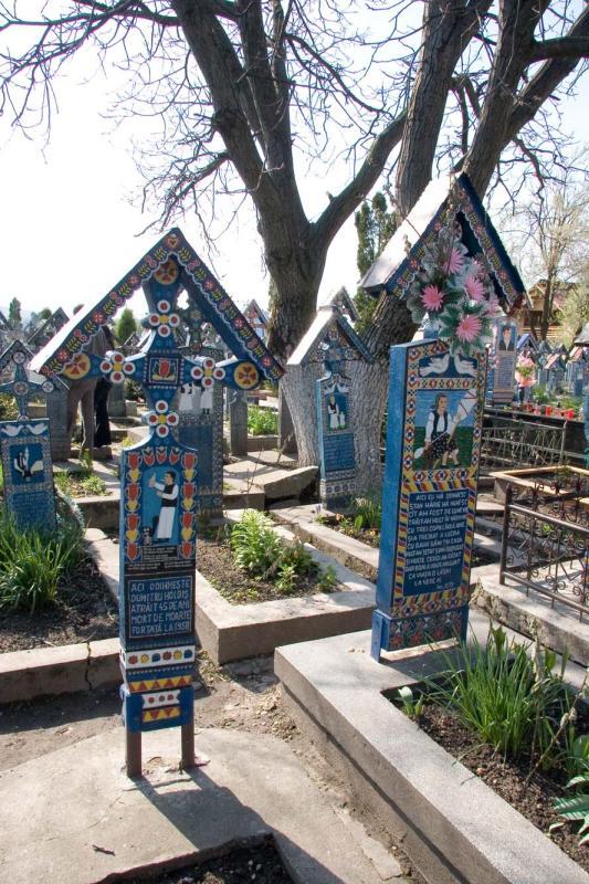 Wooden Grave Marker  for Dumitru