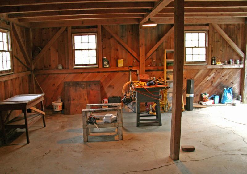 Garage as Workspace