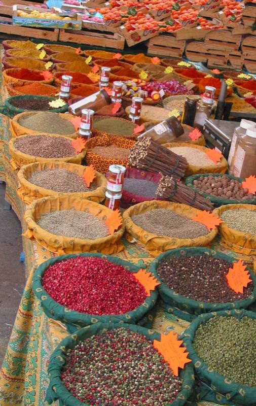 Market in Aix