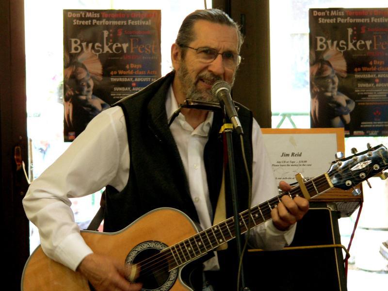 The folk singer....