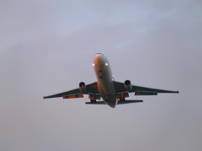 Early morning landing...