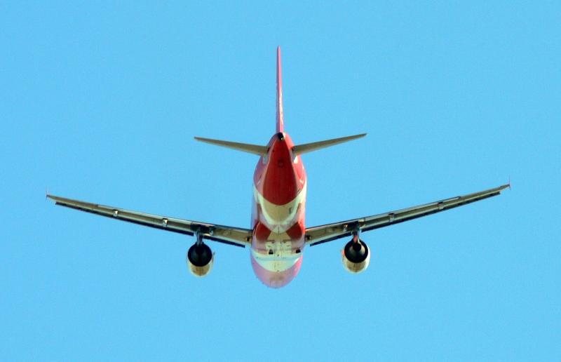 AC flight on take off....