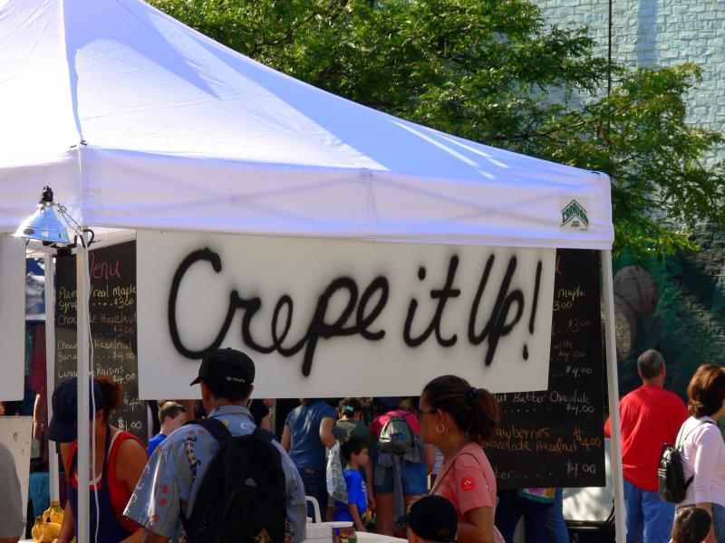 Crepes.....