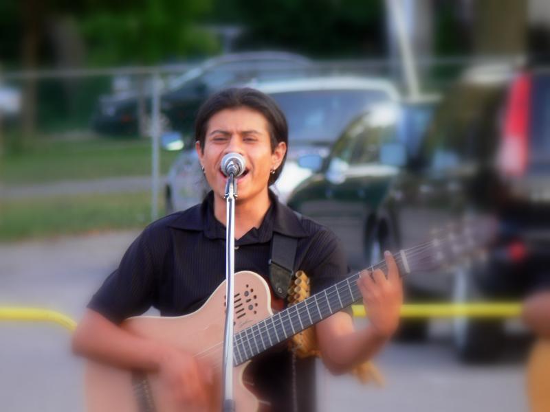 Street musician - Taste of the Kingsway...