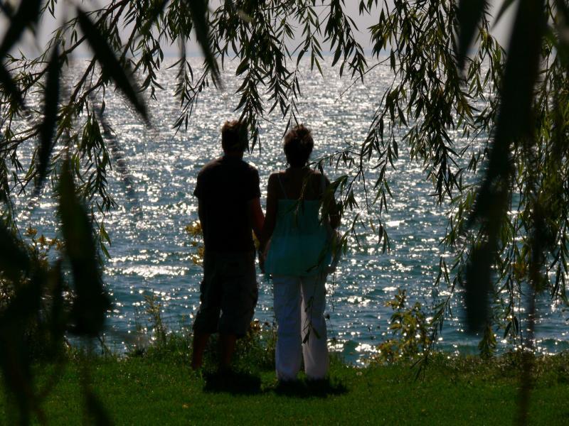At the lake.....