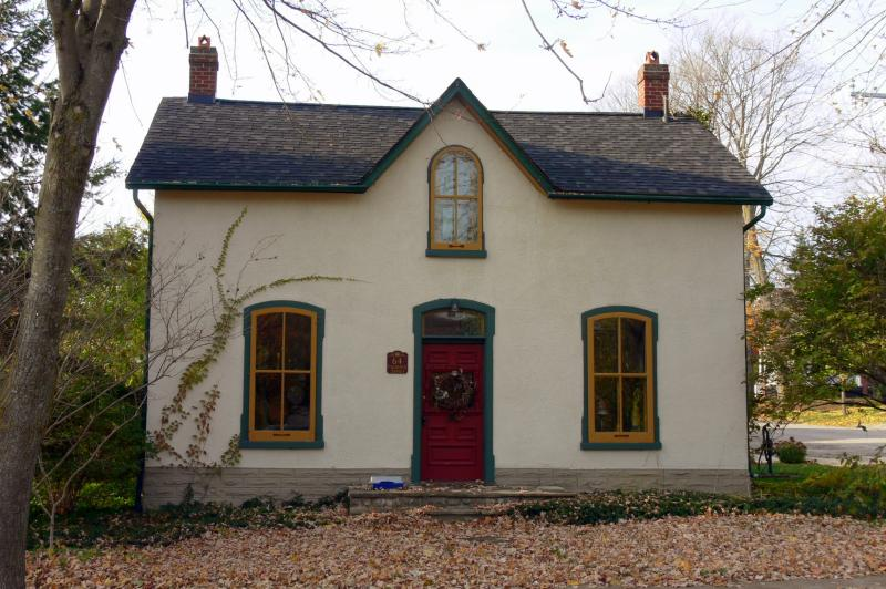 Old World homes in Elora