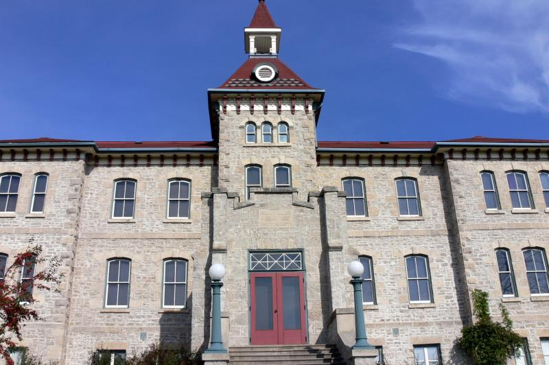 Wellington County House of Industry and refuge - An historical site in Wellington Ontario