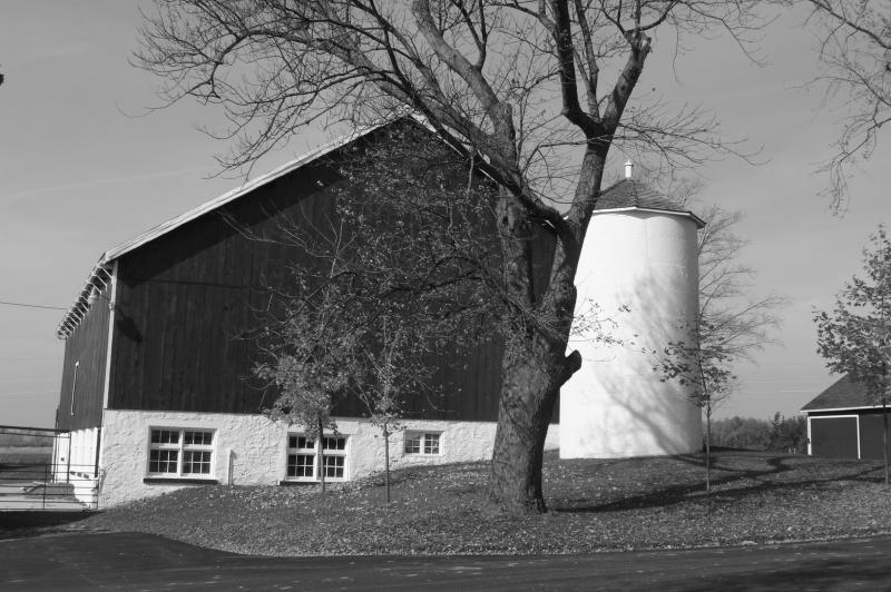 Rural farm setting...