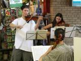 Music to accompany you while shopping at the market