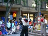 Hat juggling act....