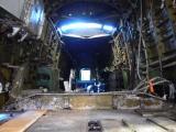 AVRO Lancaster Mk X Bomber undergoing restoration.