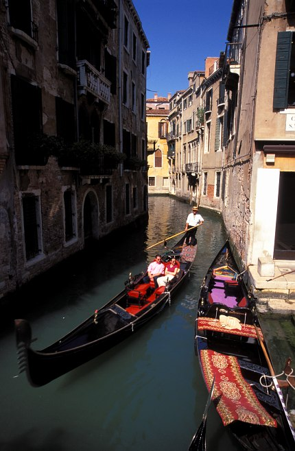 Venice: a taxi
