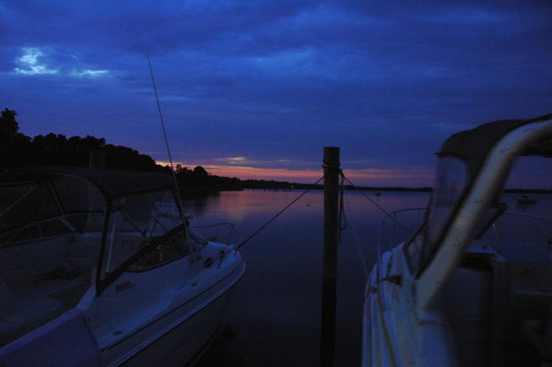 Coecles Harbor, sunset