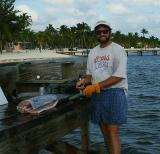 Buck, the sport fisherman