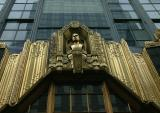Rockefeller Center building art
