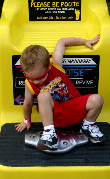 Foot Massage 4 Spideys Kid