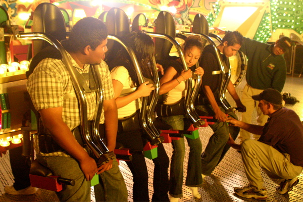 Strapping In For Thrills And Chills