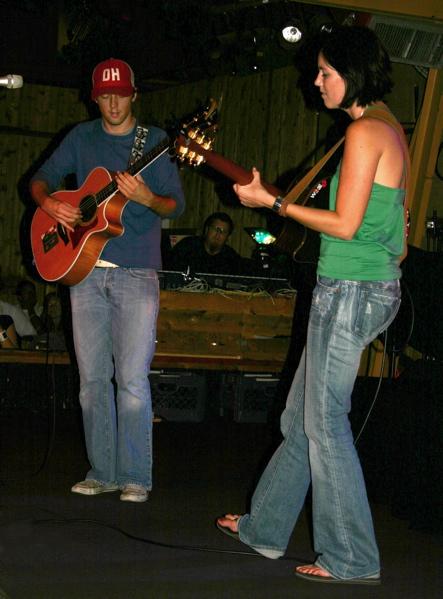 Jason Mraz and Tristan Prettyman
