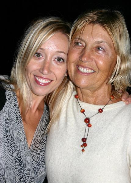 Anya Marina and Mom