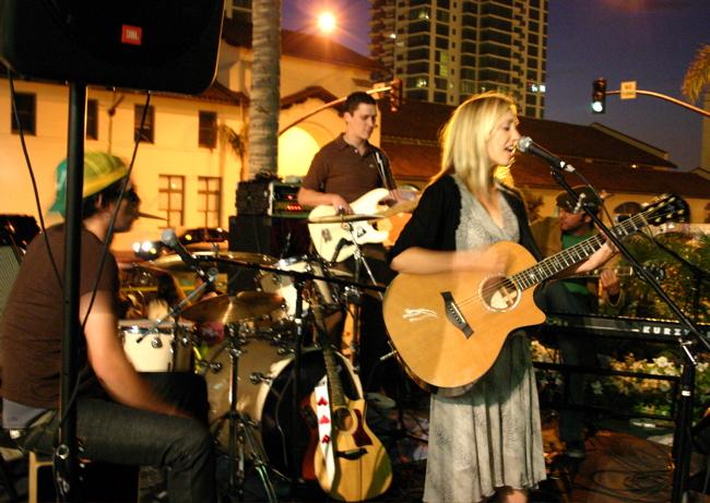 Anya Marina with Band