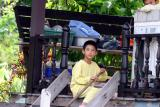 Boy along the canals: Bangkok