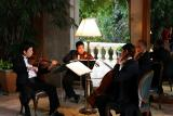 Quartet in the elegant Oriental Hotel: Bangkok